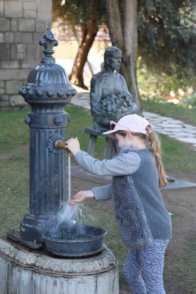 Barcelona met kids