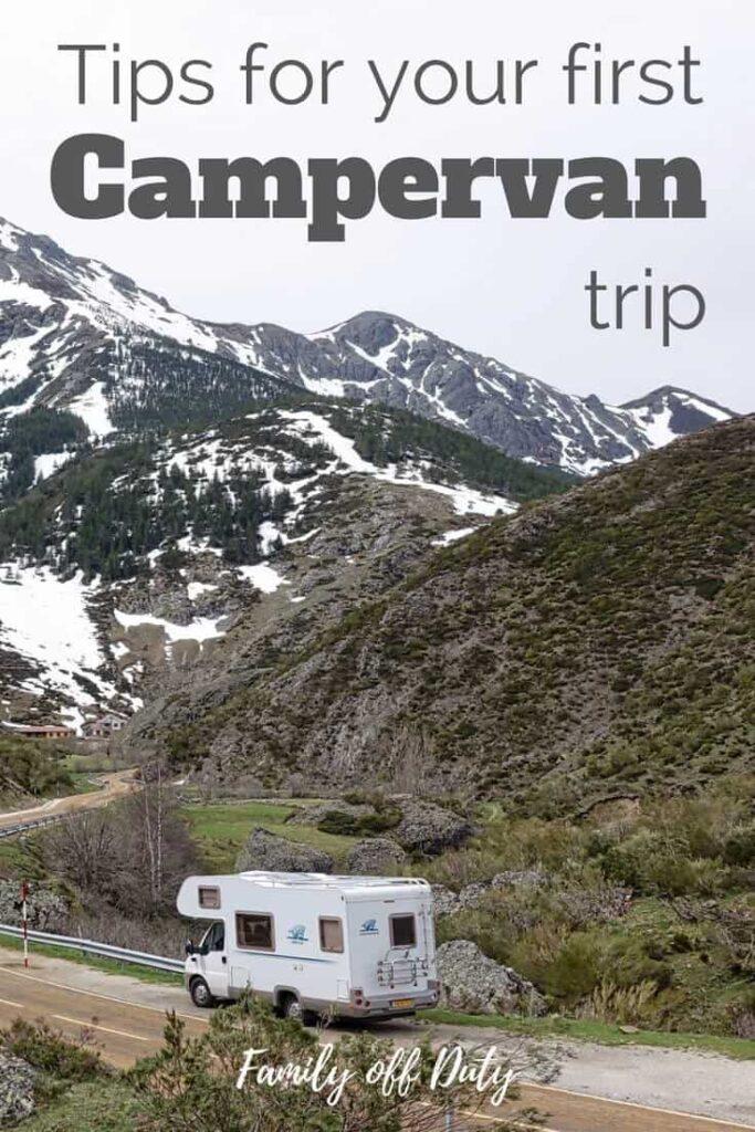 Campervan tips for first time campers