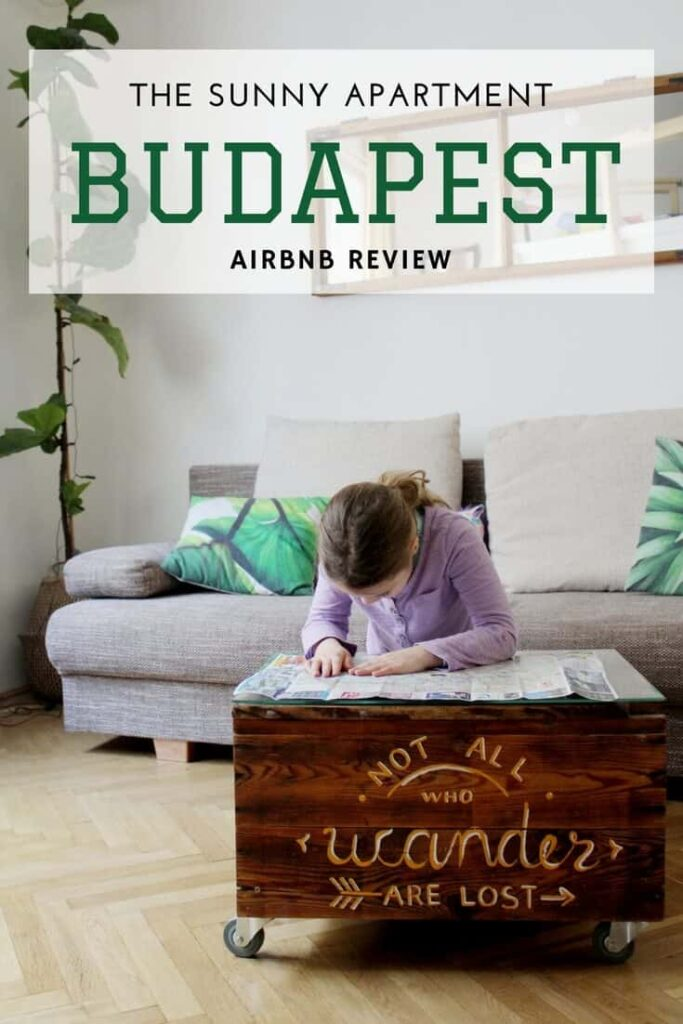 Budapest airbnb review pinterest