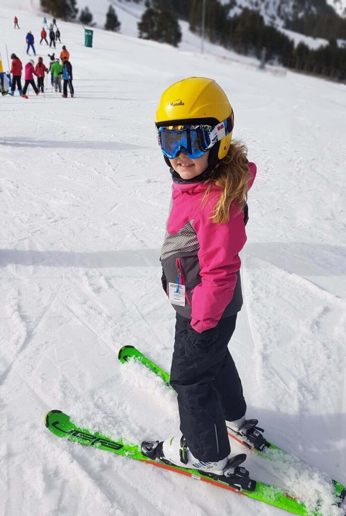 Skiing with kids Catalan Pyrenees