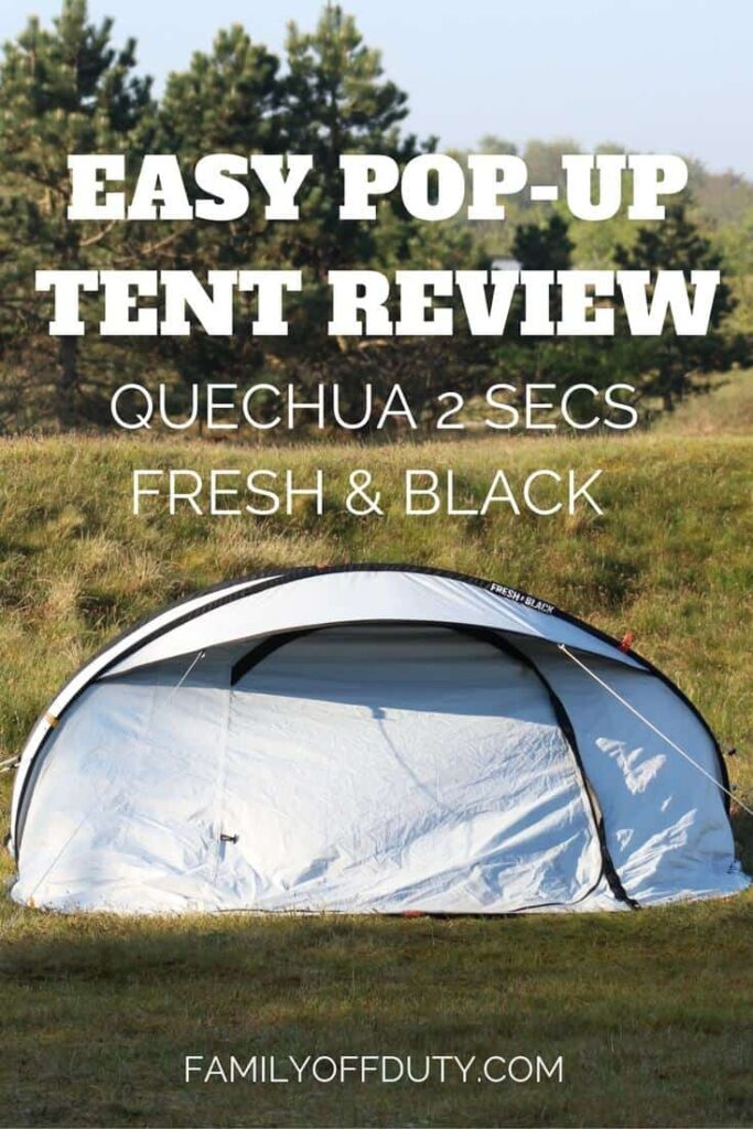 3401a913ed3 Review of Quechua 2 Seconds Tent