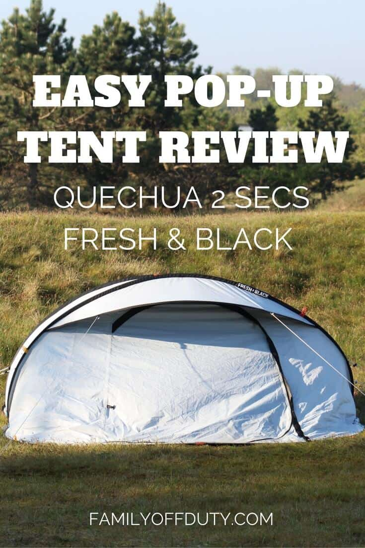 Quechua 2 seconds tent review