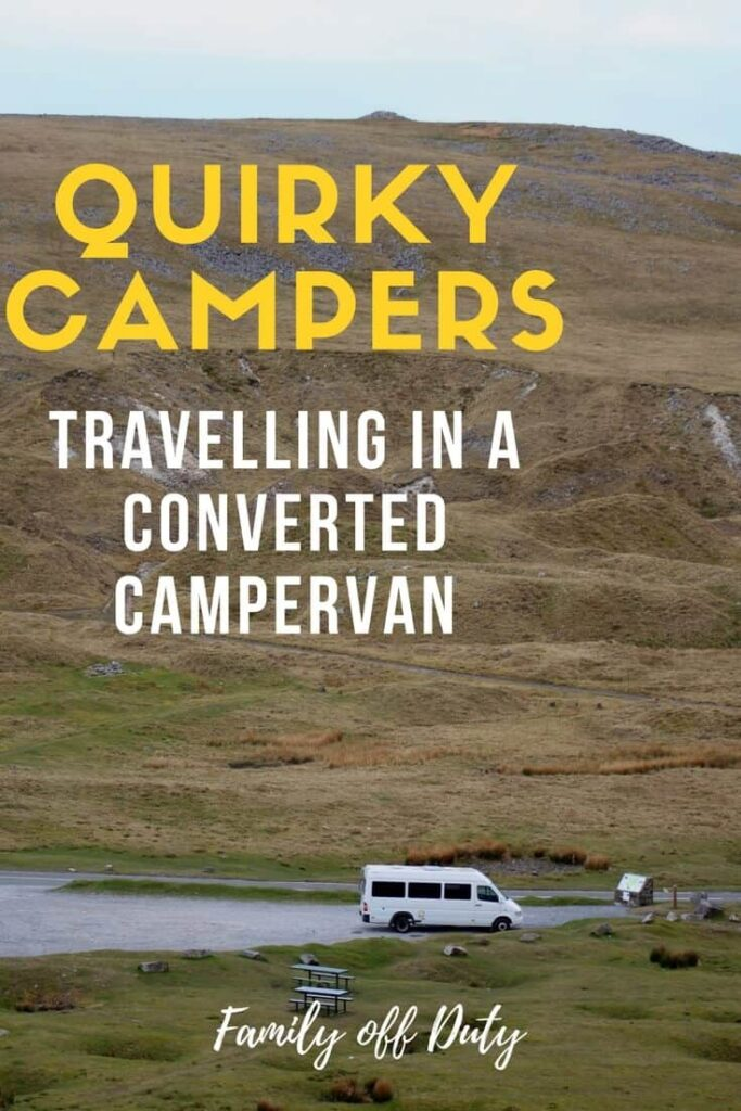 Travelling in a converted camper van