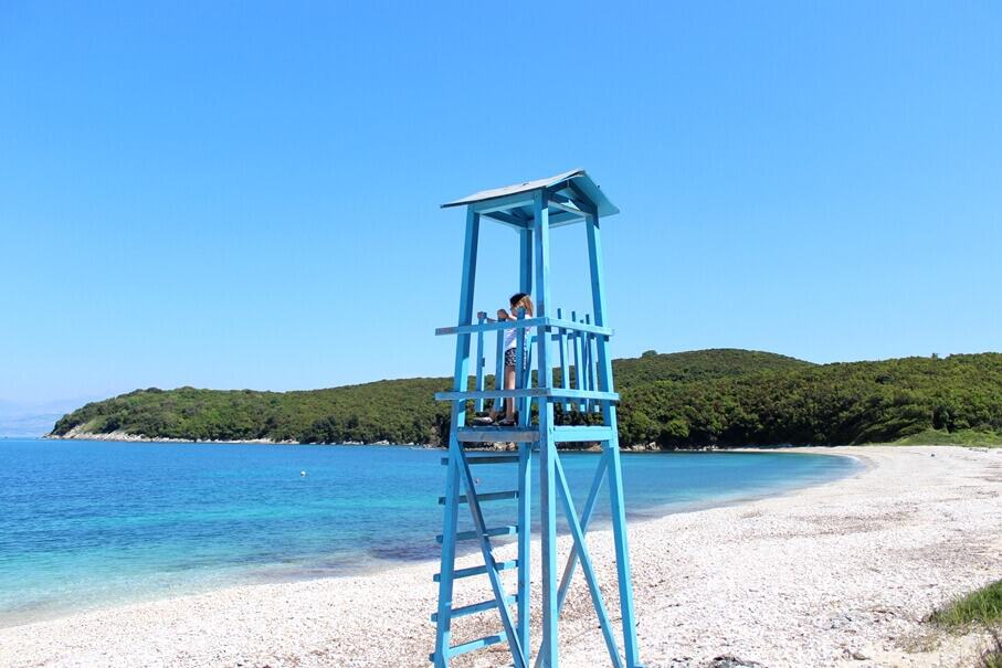 Aylaki Beach guard post