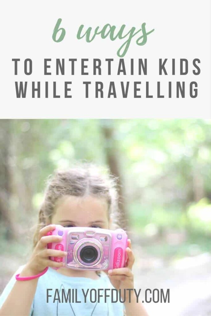How to entertain kids during travel waiting times