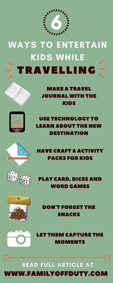 ways to entertain your kids while travelling