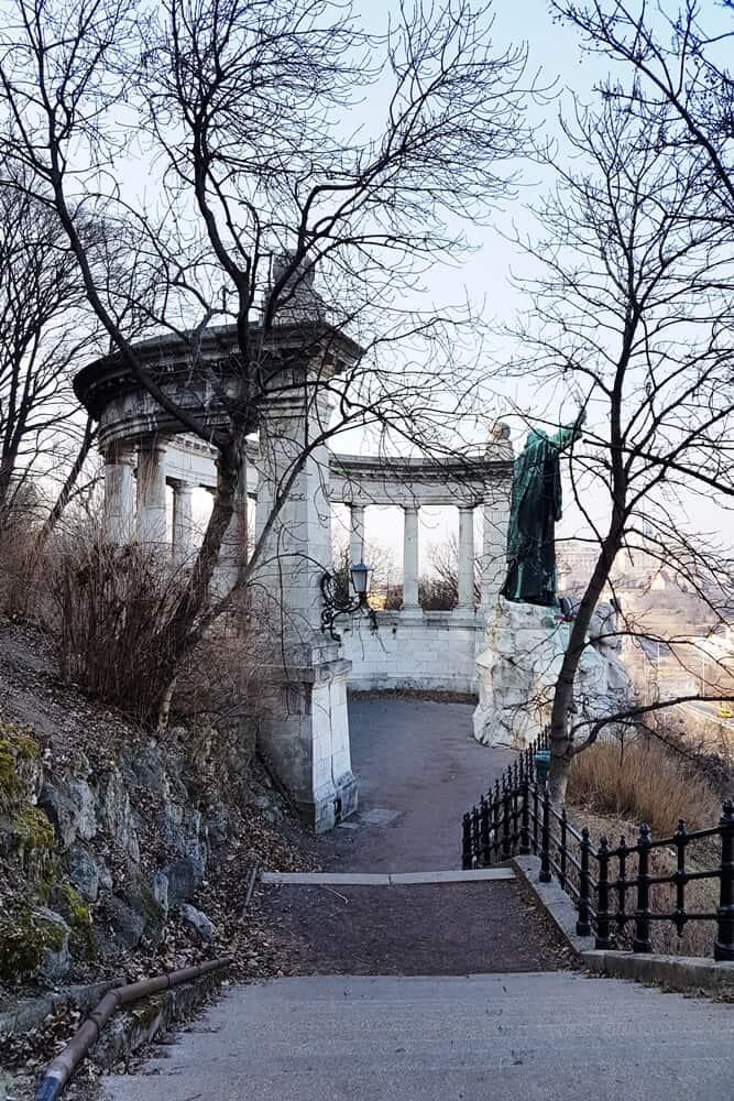 Gellért hill statue
