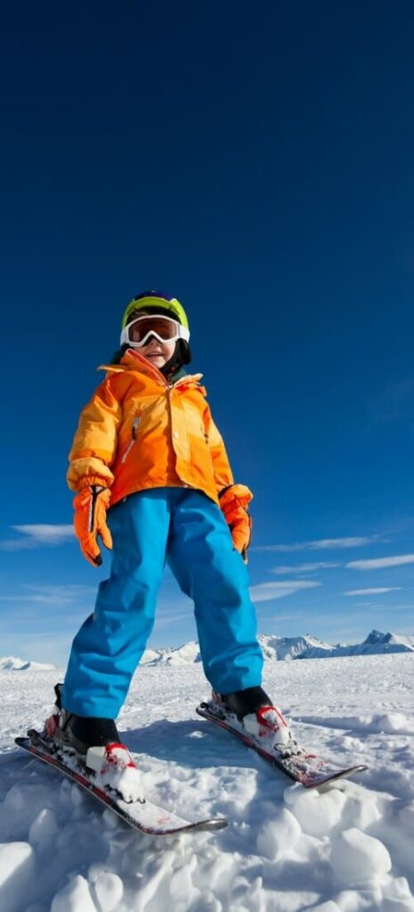 Skiing with kids vacation tips