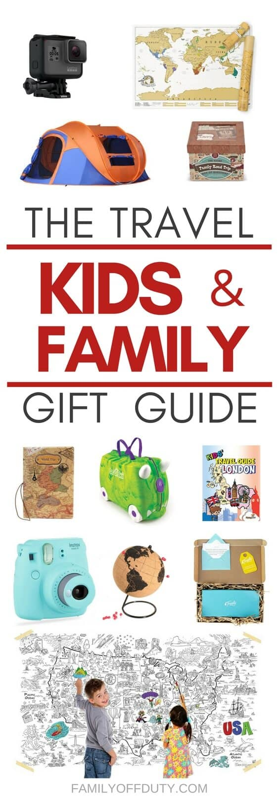 gifts for the travel family