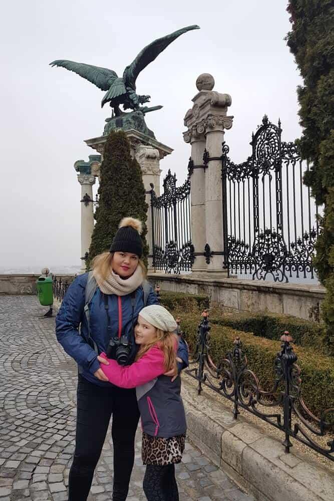 Buda castle in Castle hill