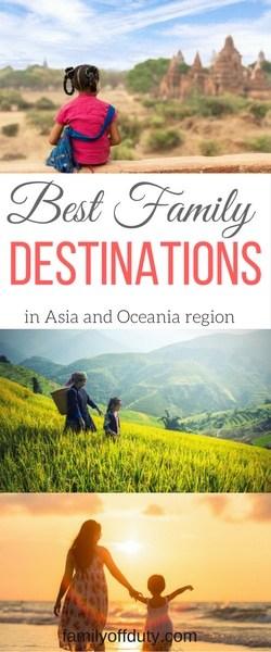 Best Holiday Destinations In Asia For Family