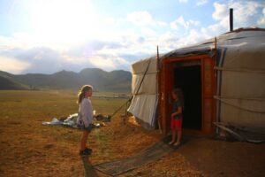 Mongolia with kids