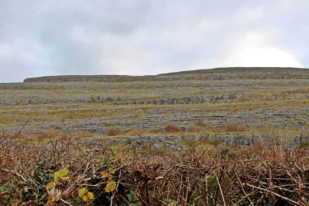 Burren kast landscape