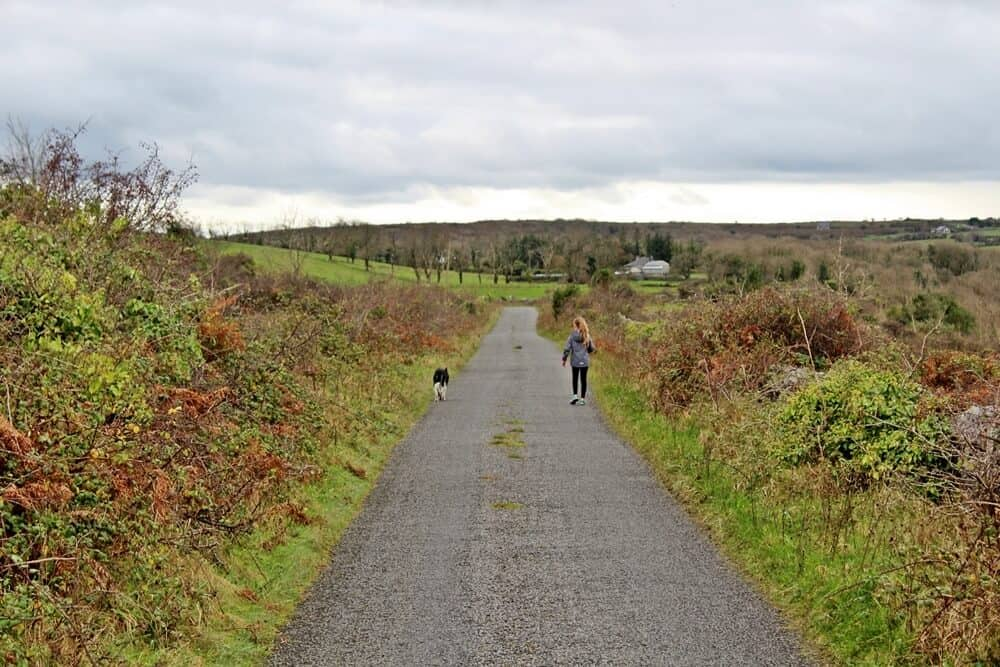 Burren walking trails and roads