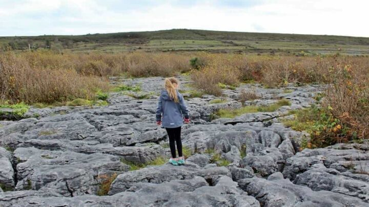 Visiting the Burren National Park in Ireland