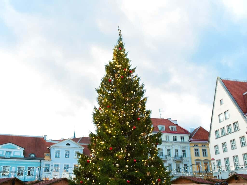Tallinn Christmas market is one of the most enchanting Christmas markets in Europe