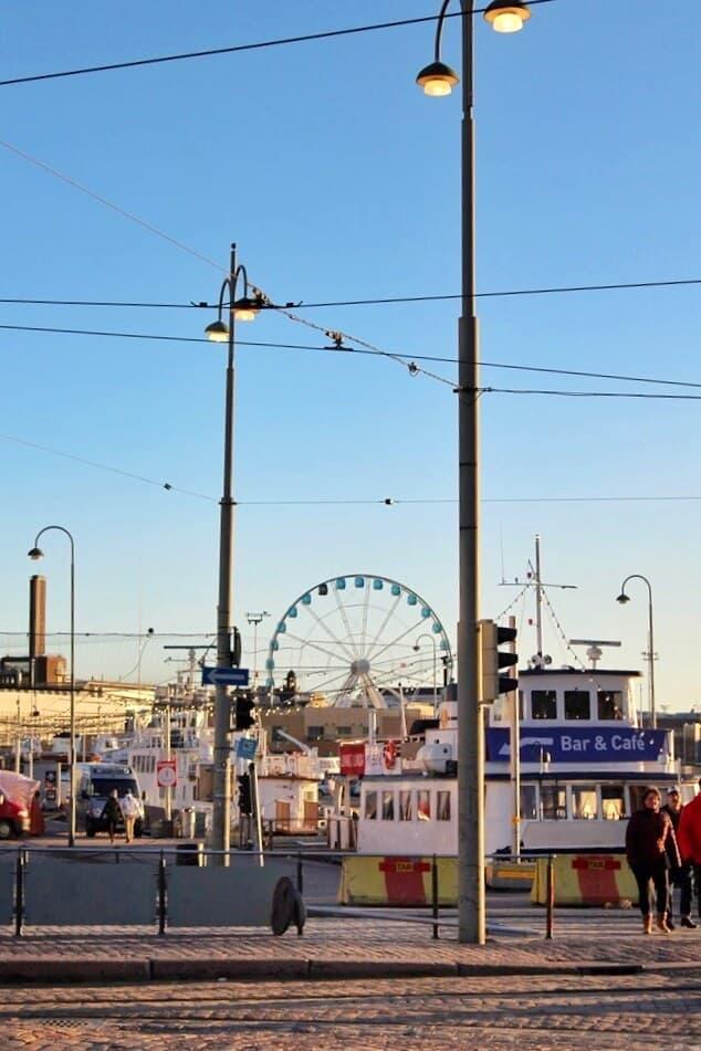 Winter sunshine in Helsinki Kappautori