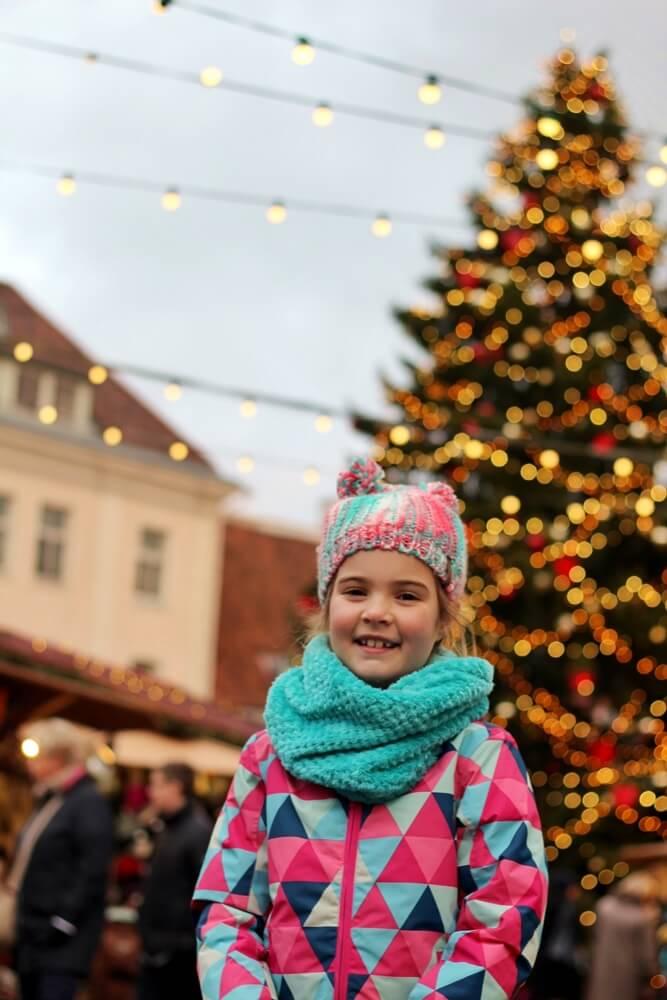Christmas market in Tallinn has an amazing vibe