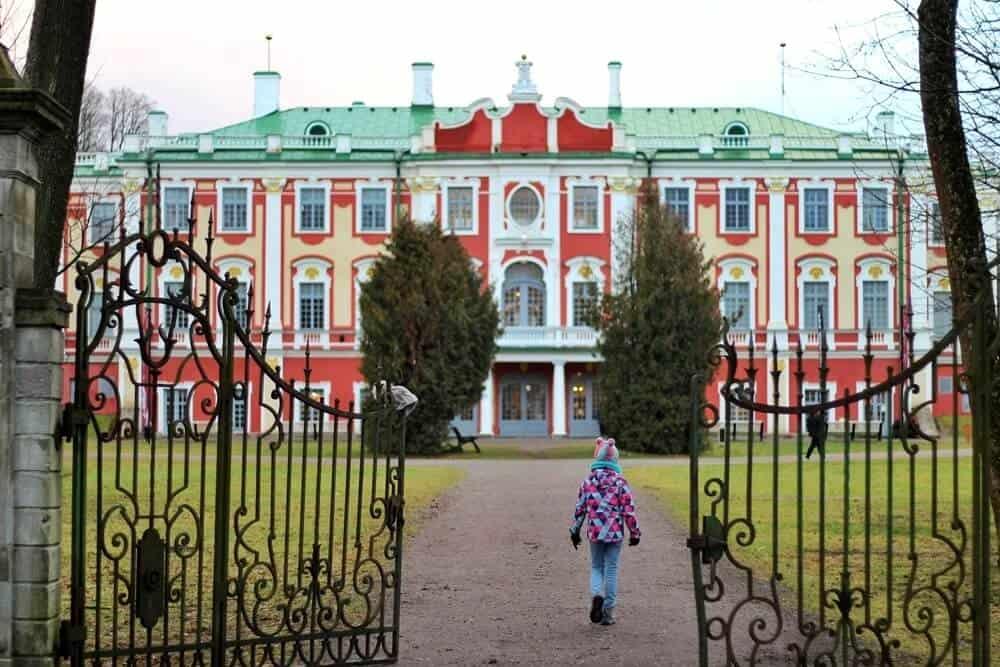 Kadriorg palace gates