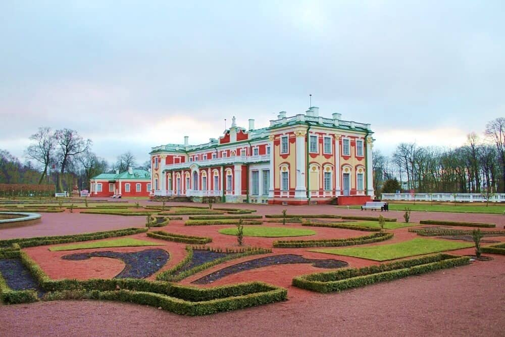 Kadrior palace is one of Tallinn's top attraction