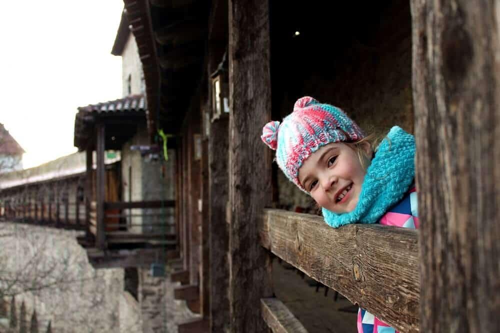 Tallinn with kids in winter