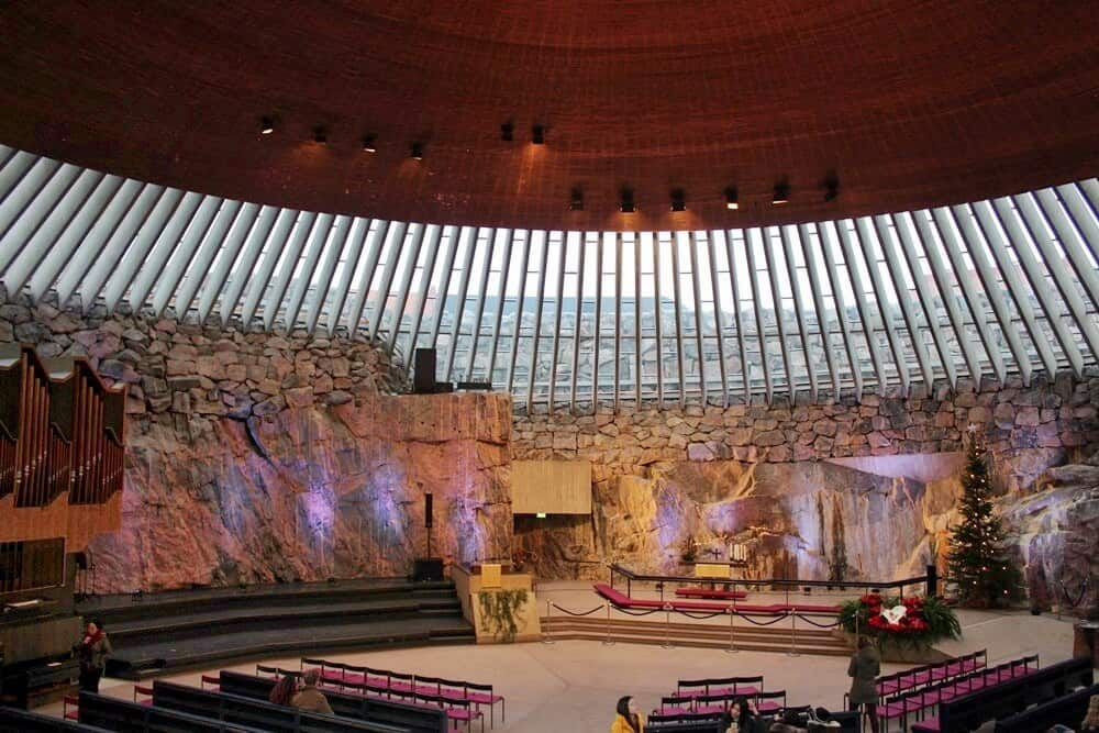 Temppeliaukio Church Rock Church Helsinki