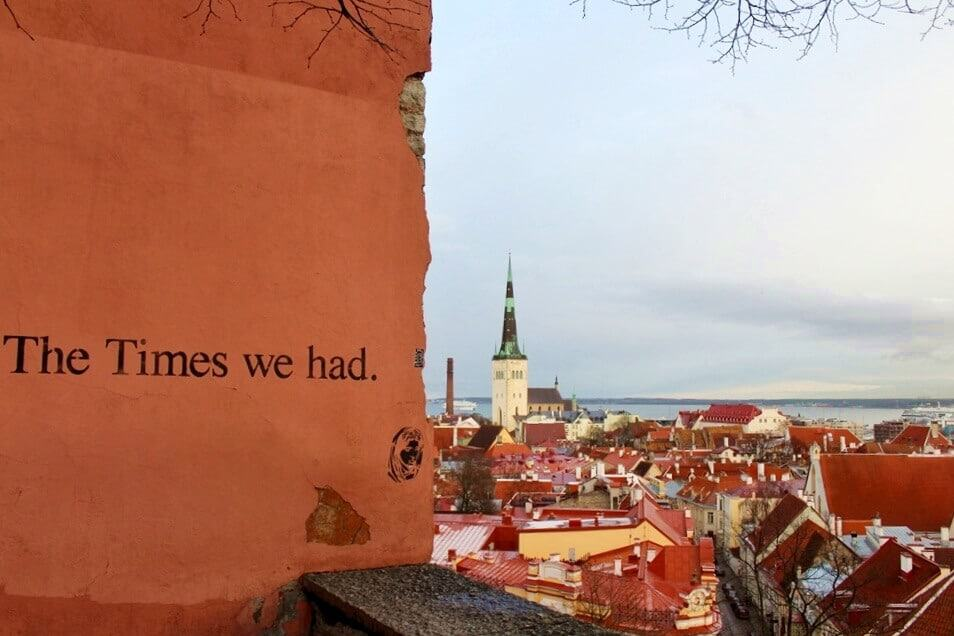 The view from Toompea hill
