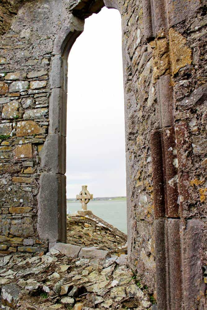 Scattery Island Church ruins