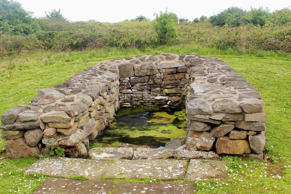 St. Senan's well Scattery island