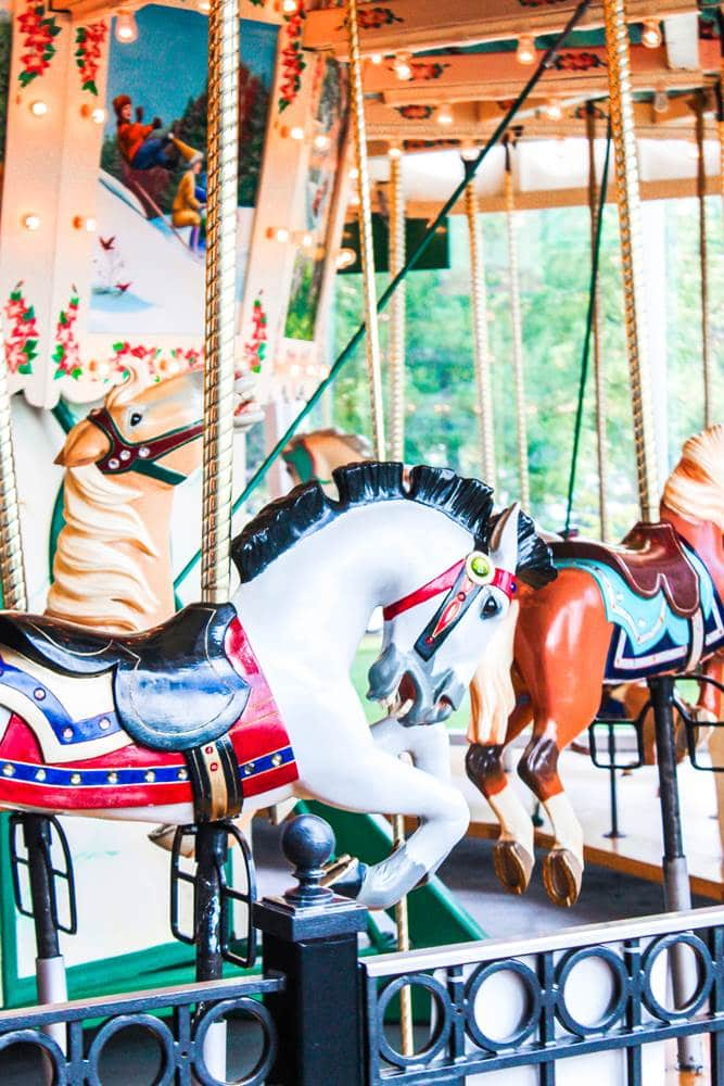 the Strong museum of play carousel