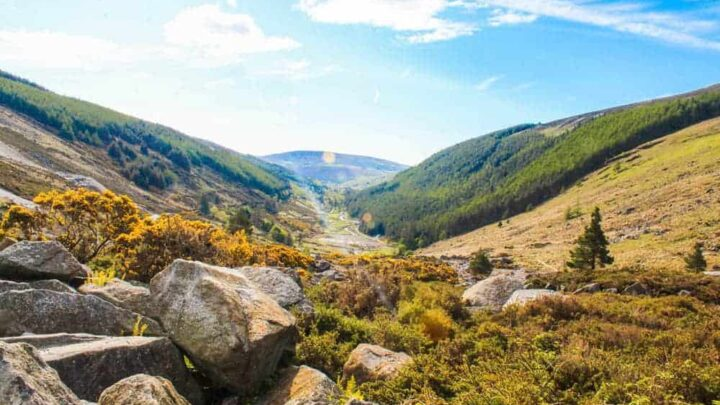 How to visit Wicklow mountains from Dublin, Ireland