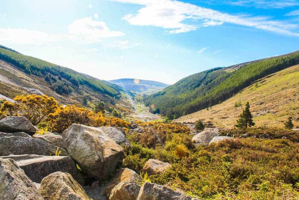 How to visit Wicklow mountains from Dublin