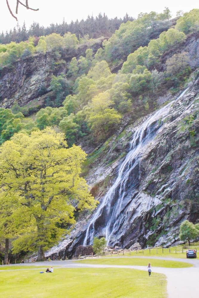 Powerscourt waterfall