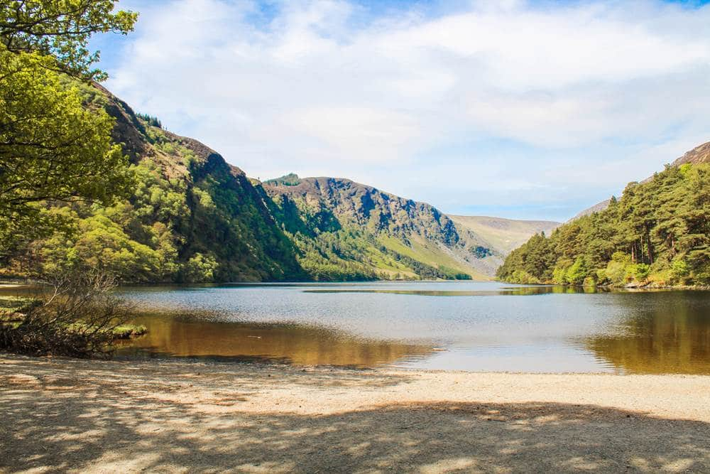 Wicklow mountains upper lake