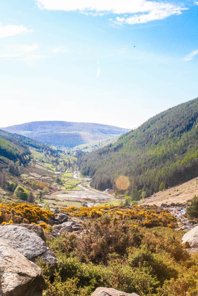 Wicklow mountains Valley