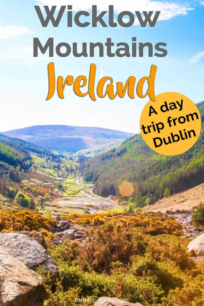 How to visit the Wicklow mountains national park on a day trip from Dublin. The Wicklow mountains is one of the most beautiful places that should be in your Ireland travel bucket list. Read more to find out the best things to do in Wicklow, Ireland including Glendalough. #wicklowmountains #ireland #irelandtravel #irelandlandscape #irelandtraveltips #irelandvacation