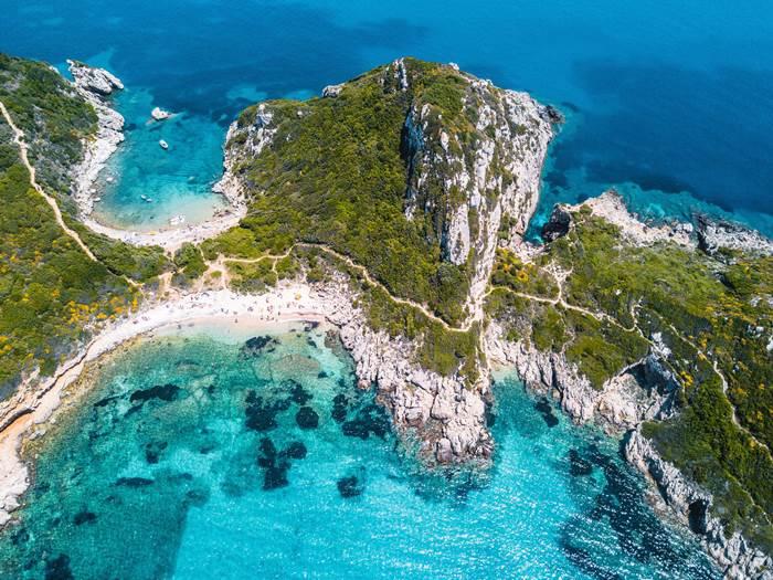 Corfu Greek island