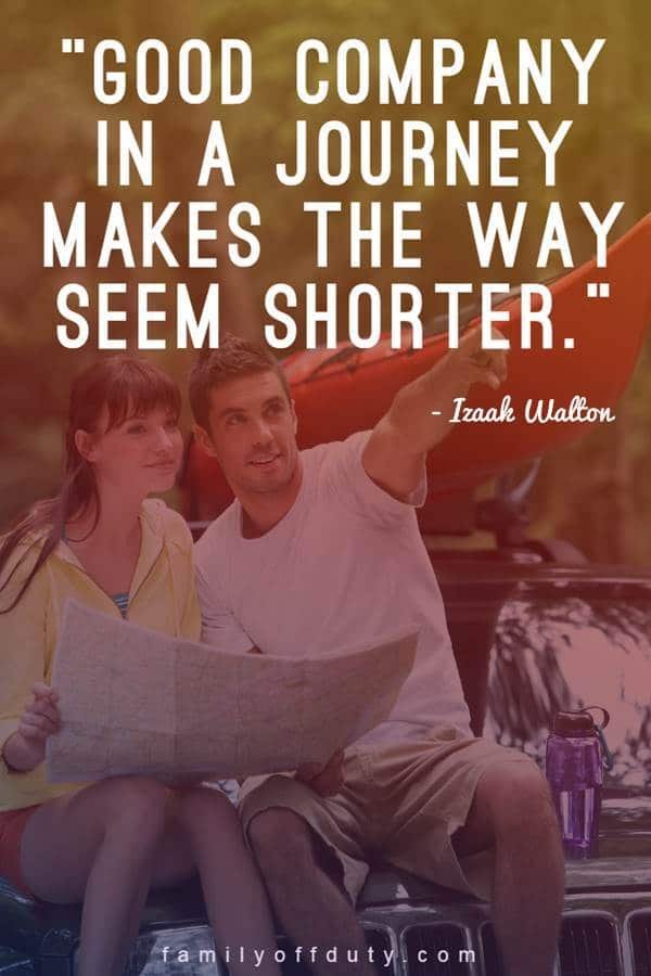 quotes about traveling with your love
