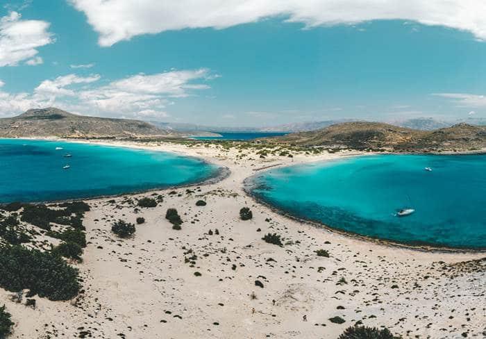 Elafonisos Greek island