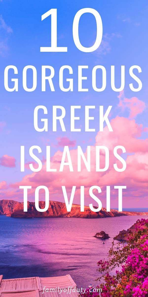 Beautiful Islands in Greece