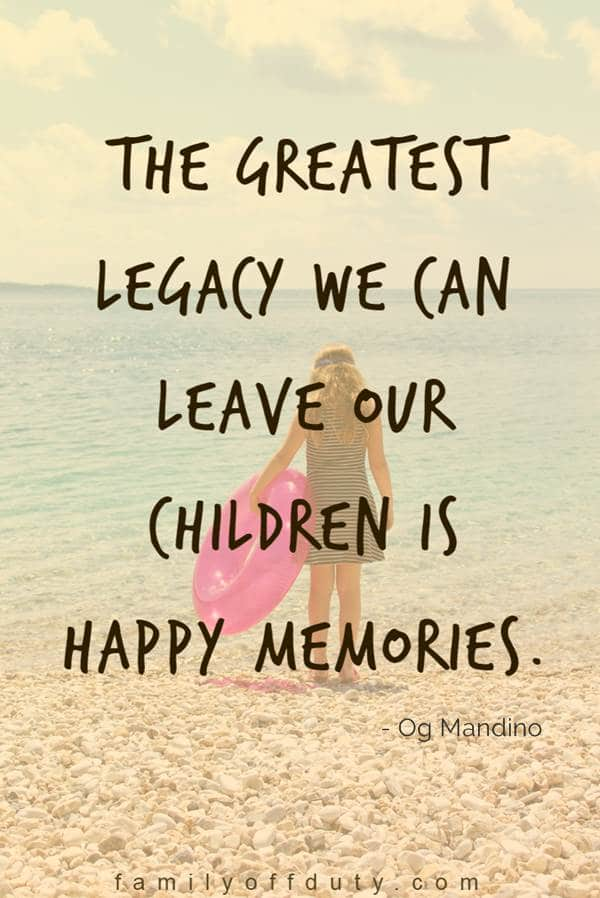 quotes about family vacation memories - travel love quotes