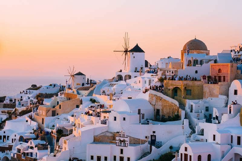 Beautiful Greek islands
