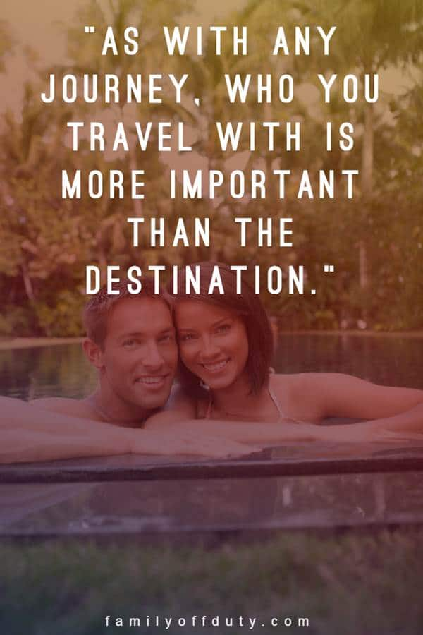 quotes about travelling with your partner