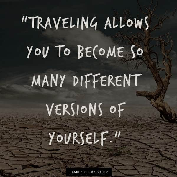 travelling alone experience