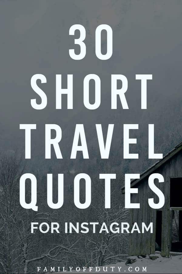 short travel quotes pinterest