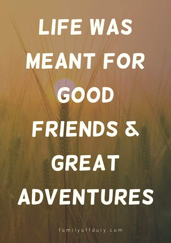 memorable trip with friends quotes on trips