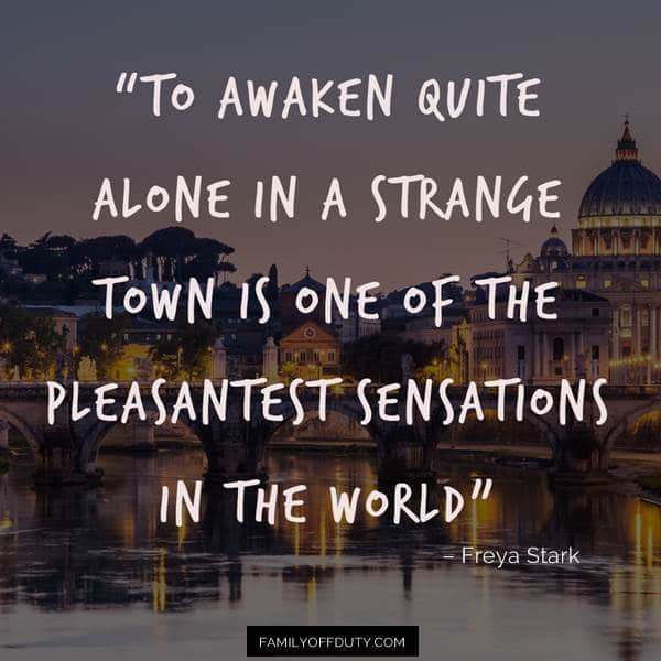 wandering alone quotes