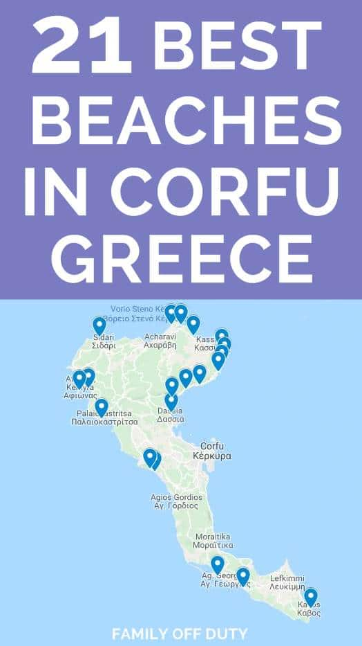 The top 10 best beaches in Corfu Greece