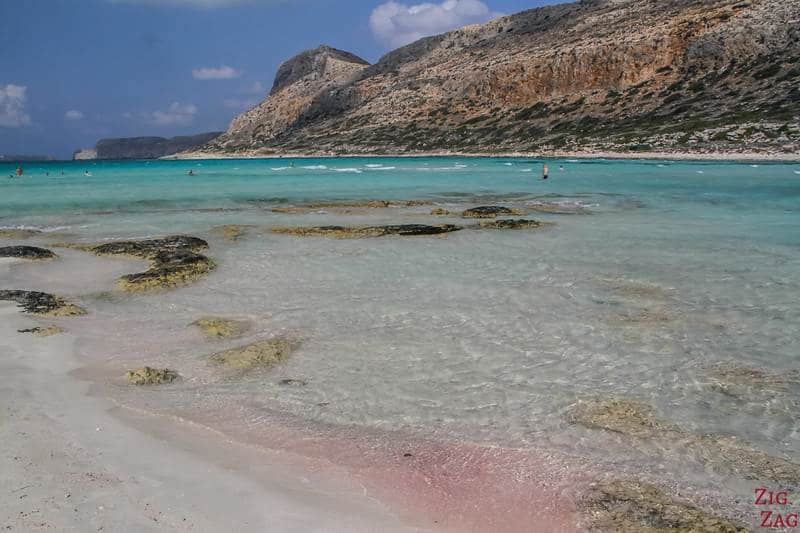 Best sandy beaches in Greece. Balos beach in Crete. Some of the best Greek Crete beaches.