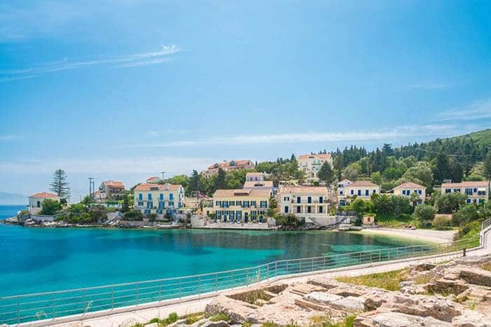 Kefalonia Greek island
